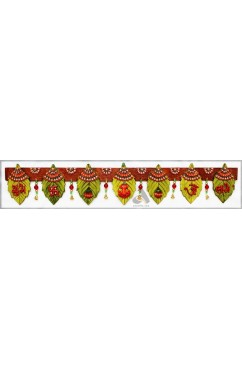 Bandanwar - Leaves design doorhang