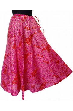Kota Doria Umbrella Flair Skirts