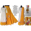 Princess Cut Cotton dobby Straight Kurta