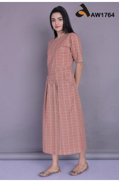 South Cotton Indo-Western Maxi Style Tunic