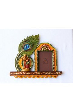 Photo Frame Radha Krishna design