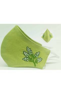 3 Ply High Nose Embroideied Cotton Masks