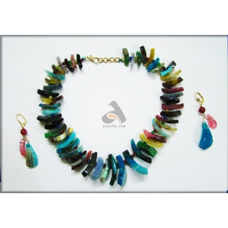 semi childrens necklace amber precious blue necklaces stone health and