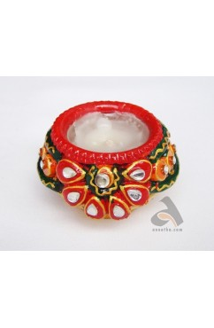 Matki Kalash Wax Candle Small size